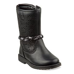 Laura Ashley Girls' Perforated Detail Boots