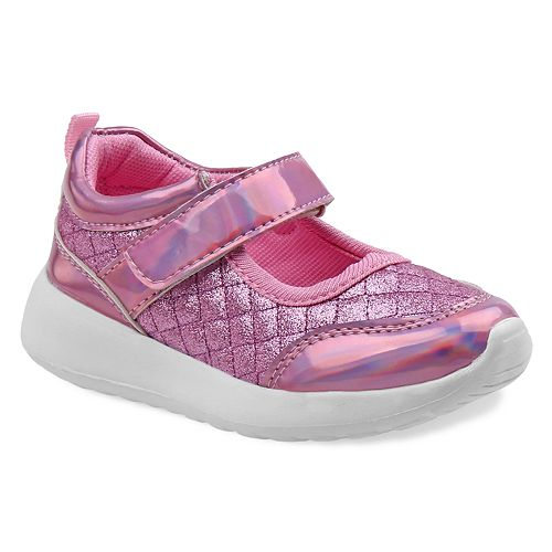 Laura Ashley Girls' Glitter High Top Sneaker