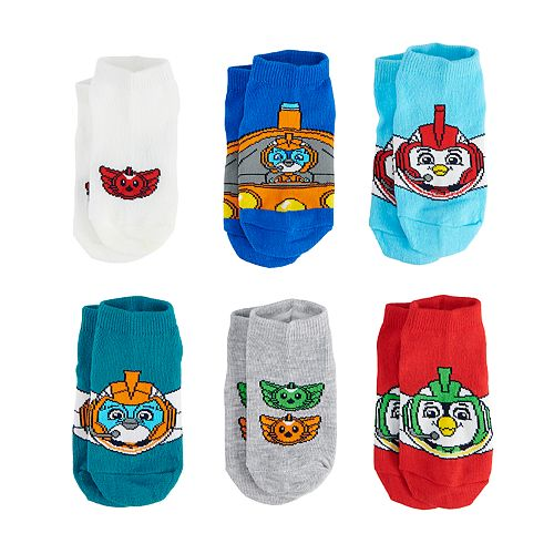 Toddler Boy Top Wing 6-pack Low-Cut Socks