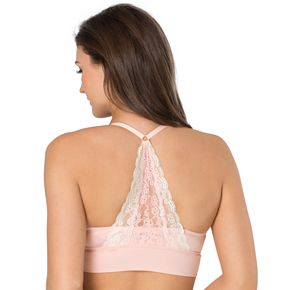 SO® Lace Racerback Bralette