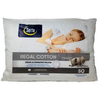 Serta Regal Cotton Pillow
