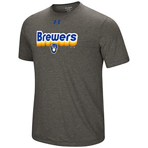 Men's Under Armour Milwaukee Brewers Saturday Morning Graphic Tee