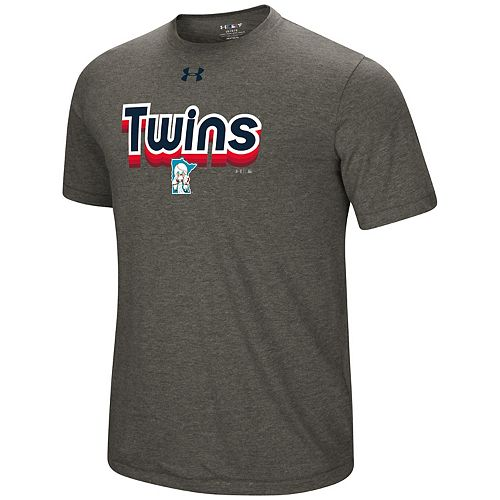 Men's Under Armour Minnesota Twins Saturday Morning Tee