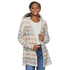 Juniors' American Rag Open Hooded Cardigan