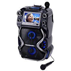 Karaoke USA Portable Professional CDG/MP3G Karaoke Player with 7-in. Color TFT Display
