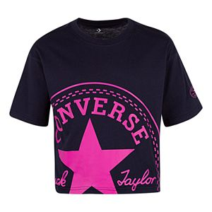 6cccc56e Girls 7-16 Converse Sequin Sneaker Short Sleeve T-Shirt