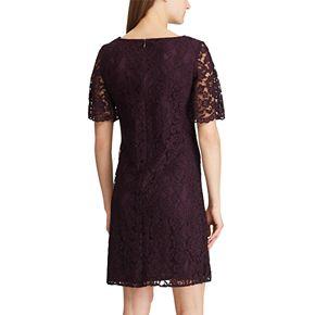 Women's Chaps Flutter Sleeve A-line Dress