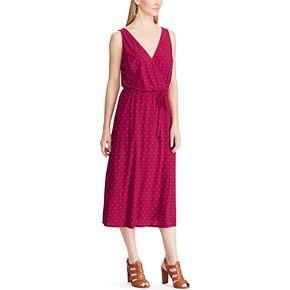 Women's Chaps Sleeveless V-Neck Dress