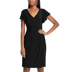 9cebb3ac Womens Black Chaps Dresses, Clothing   Kohl's