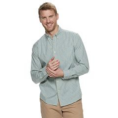 Men's SONOMA Goods for Life™ Slim-Fit Perfect Length Button-Down Shirt