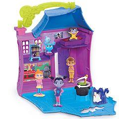 Disney's Vampirina Stow & Go Slumber Party Playset