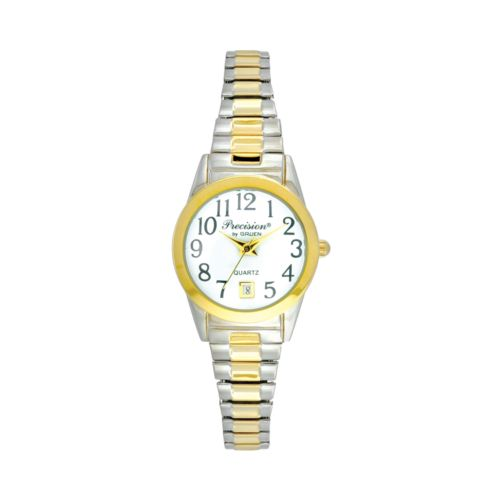 Precision by Gruen Two-Tone Expansion Watch - Women