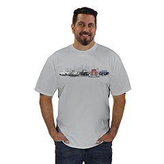 7d569fecc77 Men s Newport Blue Classic Truck Graphic Tee
