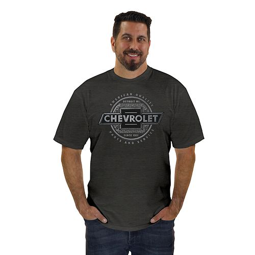 "Men's Newport Blue ""Chevrolet Parts and Service"" Tee"