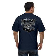 Men S Newport Blue Chevrolet Nomad Tri Five Car Graphic Tee