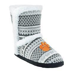 Women's Clemson Tigers Snowflake Bootie
