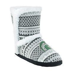 Women's Michigan State Spartans Snowflake Bootie