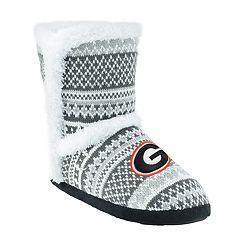 Women's Georgia Bulldogs Snowflake Bootie
