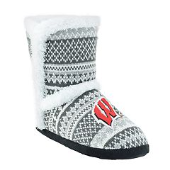 Women's Wisconsin Badgers Snowflake Bootie