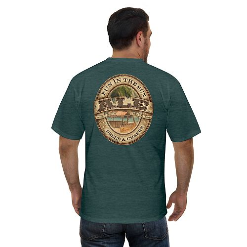 "Men's Newport Blue ""Fun in the Sun Ale"" Beer Graphic Tee"