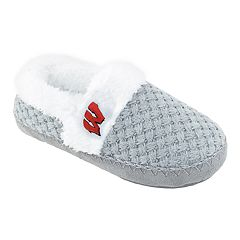 Women's Wisconsin Badgers Alpine Slippers