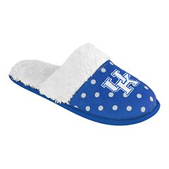 Women's Kentucky Wildcats Dotted Scuff Slippers