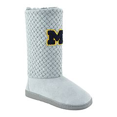 Women's Michigan Wolverines High-Top Booties
