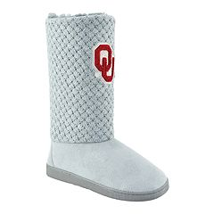 Women's Oklahoma Sooners High-Top Booties