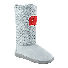 Women's Wisconsin Badgers High-Top Booties