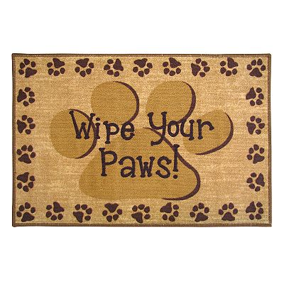 NATCO Wipe Your Paws Rug