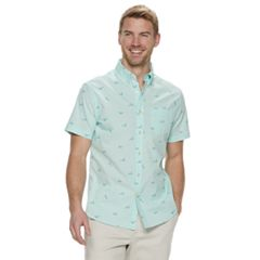 ce9f353183da Men's SONOMA Goods for Life™ Slim-Fit Stretch Poplin Button-Down Shirt