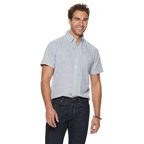 Men's SONOMA Goods for Life? Linen-Blend Button-Down Shirt
