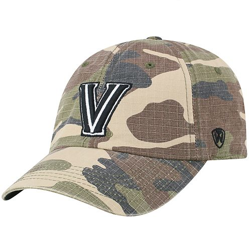 Men's Top of the World Villanova Wildcats Camo Ripstop Cap