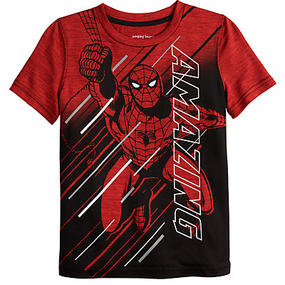 "Boys 4-12 Jumping Beans® Marvel Spider-Man ""Amazing"" Active Tee"