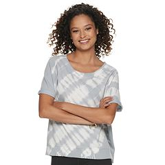 Juniors' SO® Short Sleeve French Terry Tee