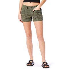 Juniors' Unionbay Delaney Stretch Midi Shorts