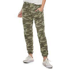 Juniors' SO® Drawstring Jogger Sweatpants