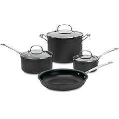 Cuisinart Chef's Classic Nonstick Hard-Anodized 7-pc. Cookware Set