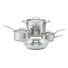 Cuisinart Chef's Classic Stainless Steel 7-pc. Cookware Set