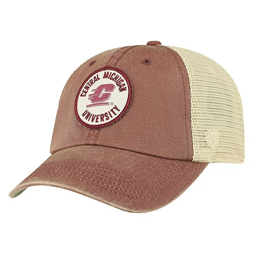Men's Top of the World Central Michigan Chippewas Keepsake Enzyme Washed Cap