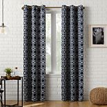 Sun Zero Barnett Trellis Blackout Grommet Curtain Panel