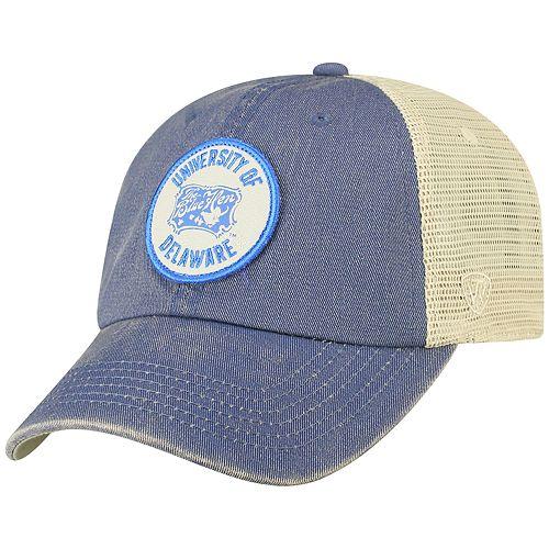 Men's Top of the World Delaware Blue Hens Keepsake Enzyme Washed Cap