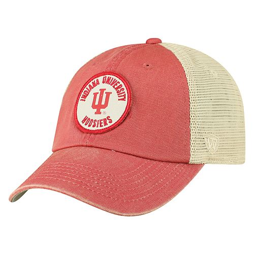 Men's Top of the World Indiana Hoosiers Keepsake Enzyme Washed Cap