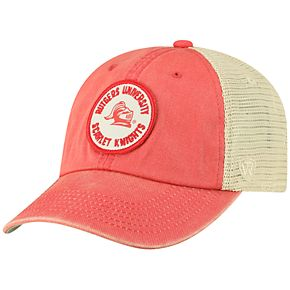 Men's Top of the World Rutgers Scarlet Knights Keepsake Enzyme Washed Cap
