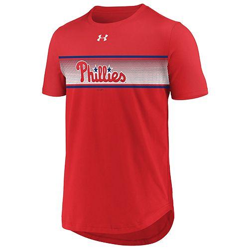 Men's Under Armour Philadelphia Phillies Seam To Seam Tee