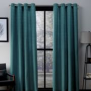 Exclusive Home 2-pack Virenze Faux Silk Window Curtains