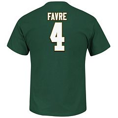 Big & Tall Majestic Green Bay Packers Brett Favre Hall of Fame Eligible Receiver Tee