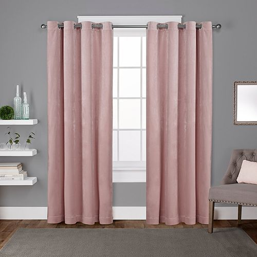 Exclusive Home 2-pack Velvet Heavyweight Window Curtains