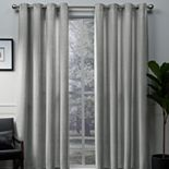 Exclusive Home 2-pack Winfield Metallic Sheen Window Curtains