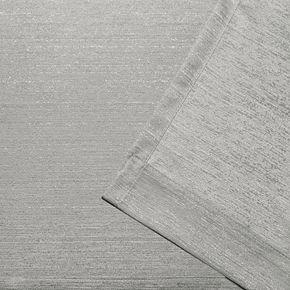Exclusive Home 2-pack Whitby Metallic Slub Yarn Textured Window Curtains